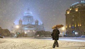 какая будет зима 2018-2019 в Санкт-Петербурге по прогнозам синоптиков