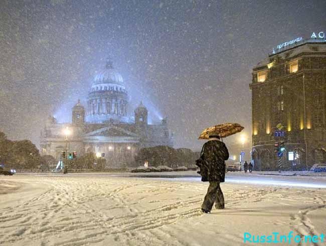 какая будет зима 2016-2017 в Санкт-Петербурге по прогнозам синоптиков