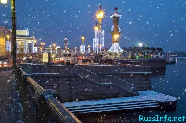 погода зимой 2018-2019 года в Санкт-Петербурге