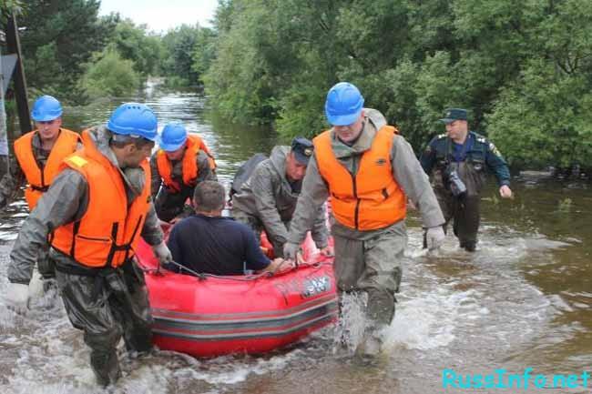 спасение на реке