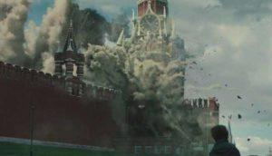 Кремль в дыму