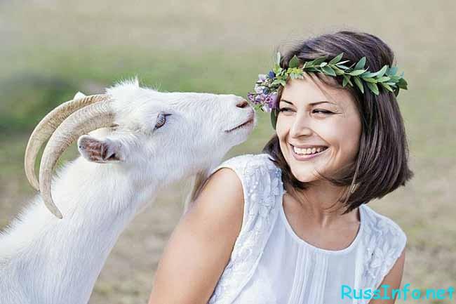 козел с любимой