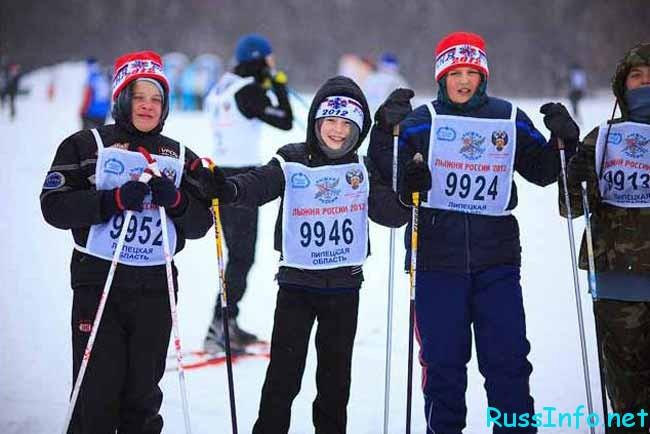 юнные участники соревнований