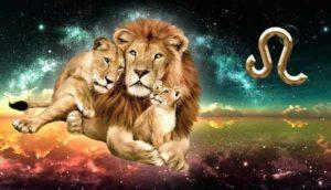 любящая мама- львица