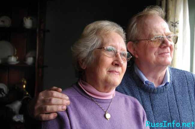 пенсионеры в ожидании