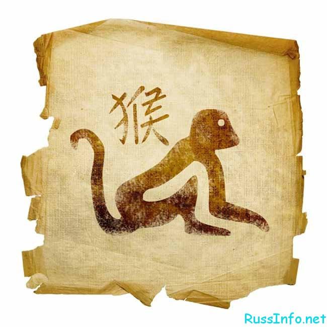 обезьяна на папирусе