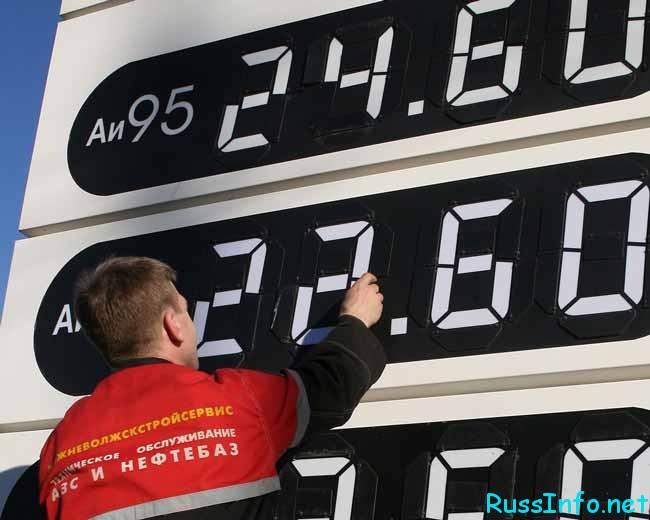 Повышение цен на бензин в 2018 году