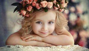 красивая девочка