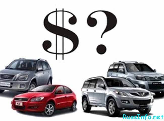 машины разных моделей