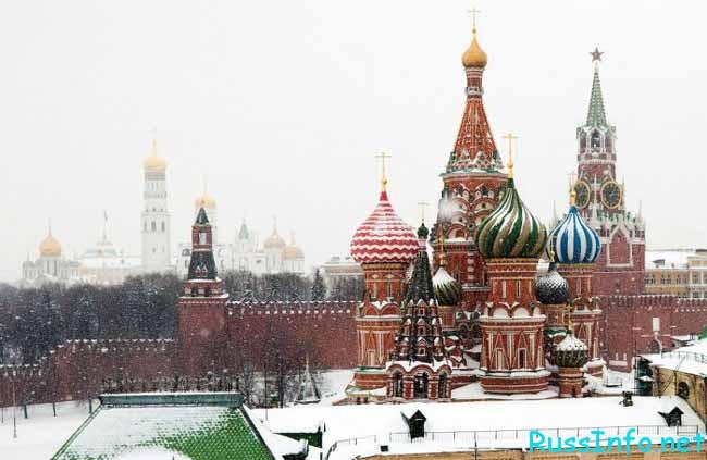Погода в России и Москве в декабре 2016 года