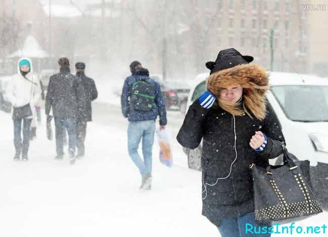 Погода в России и Москве в декабре 2018 года