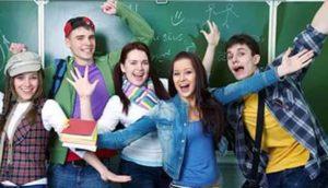 студенты радуются