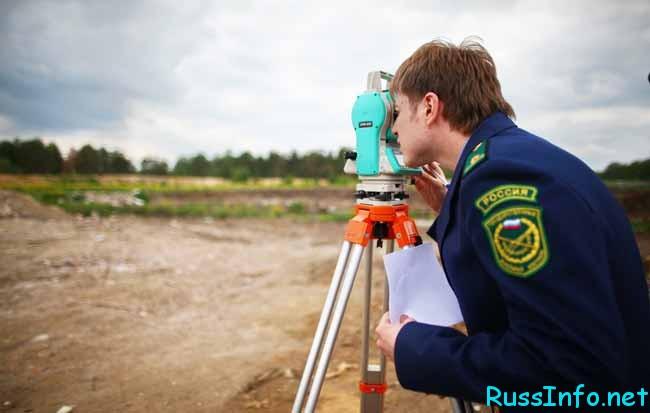 измеряют землю