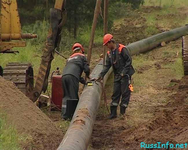 идет газификация
