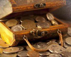 сундук денег