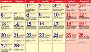 лунный посевной календарь на февраль 2017 года