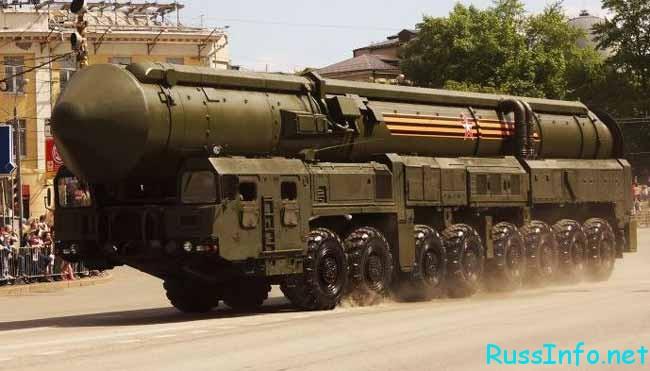 """баллистическая ракета """"Ярс-М"""""""
