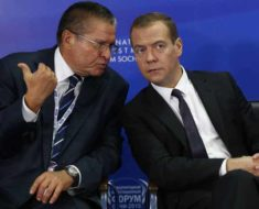 Улюкаев и Медведев