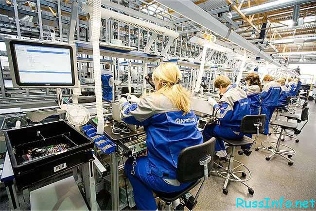 люди на производстве