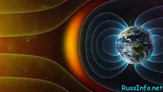 распространение магнитных бурь