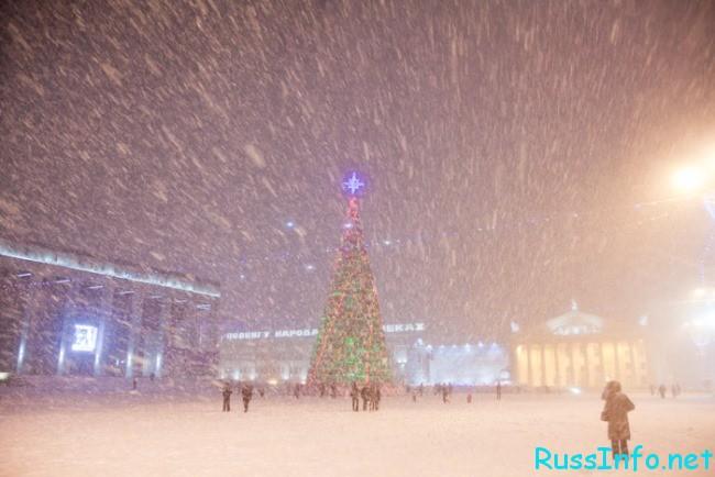 Декабрь в Минске