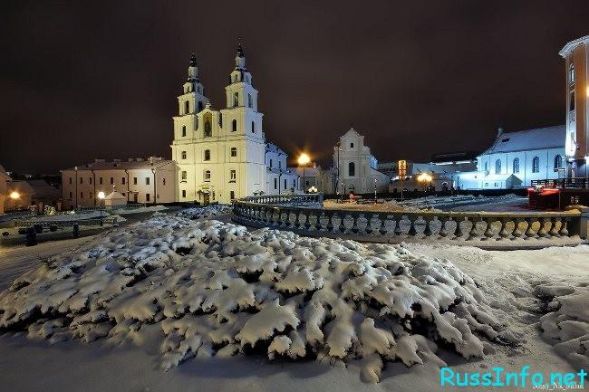 Белоруссия зимой