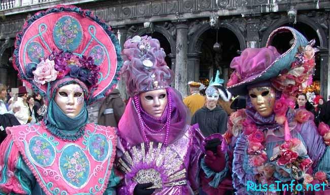 Этот интересный карнавал в Венеции