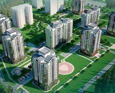 новый жилой квартал г.Барнаула