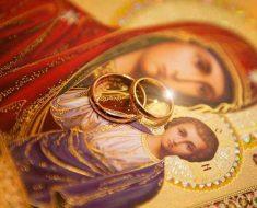 два кольца равным образом Богородица