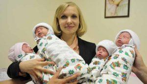 мамочка с детками