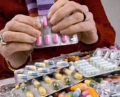 куча лекарств