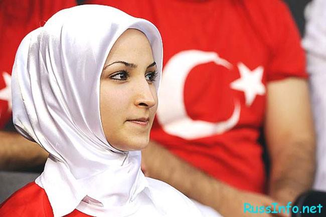 красивая турчанка