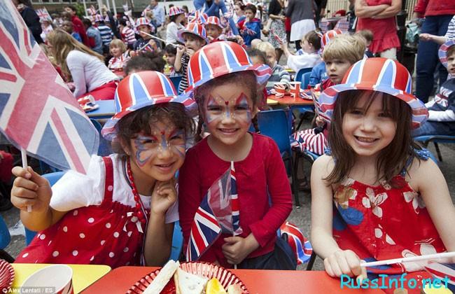 дети Великобритании