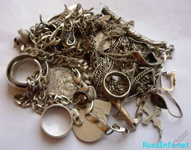 изделия из серебра