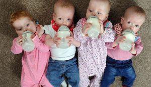 четыре малыша