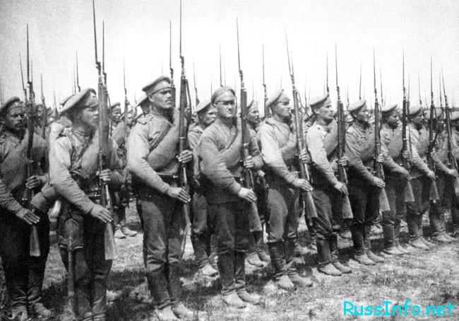 начались действие Первой Мировой Войны.