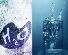 вода и бутылка