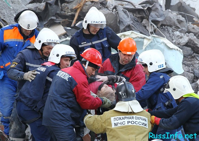 спасение пострадавших