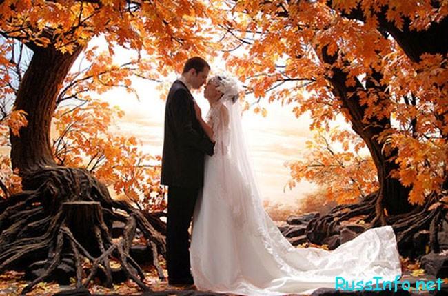 Незабываемая свадьба в октябре 2017 года