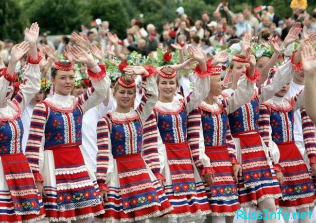 Население Белоруссии