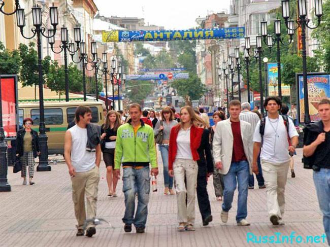 Население в Нижнем Новгороде