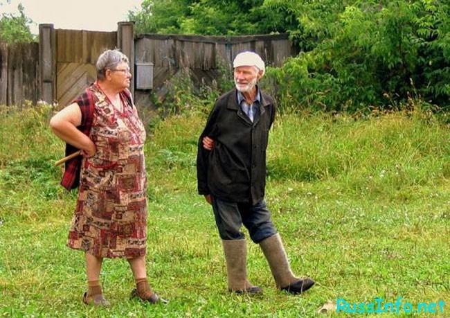 первый дед на деревне!