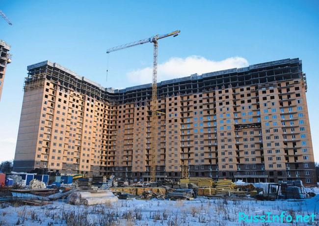строительство идёт рекордными сроками