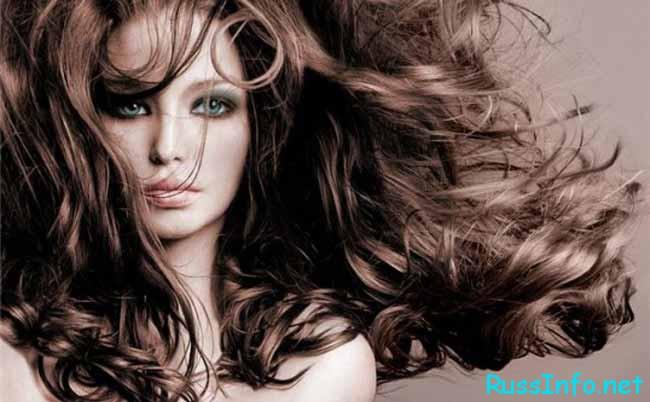 девушка и красивые волосы