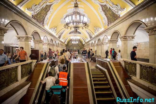 станций Московского Метрополитена