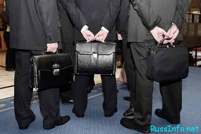 депутаты с портфелями