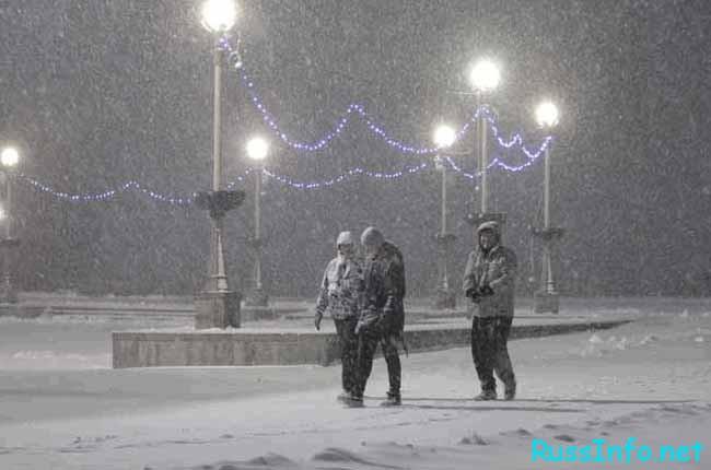 Ставрополь отличается суровым климатом