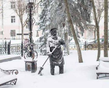 зима в Ставрополе