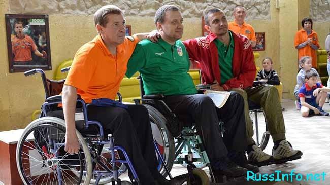 инвалиды-спортсмены