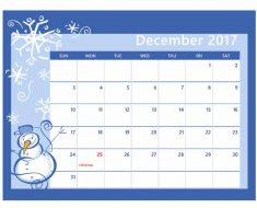 Зимний месяц - декабрь